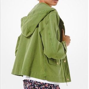 Michael Kors Green Anorak Jacket